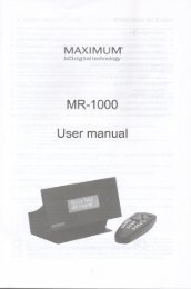 MR—1000 - OneRemote