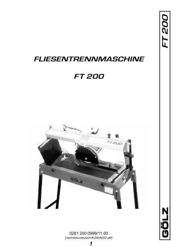 F T 200 - Ploberger