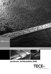 Sortiments- und Bestellliste 2006
