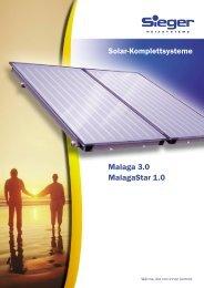 Solar-Komplettsysteme Malaga 3.0 MalagaStar 1.0