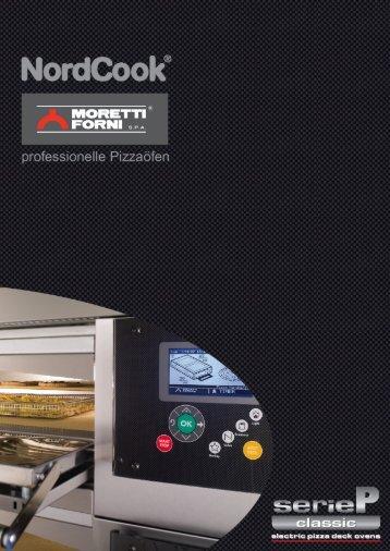 NordCook Pizzaöfen by Moretti Forni - Elektromodelle der serieP ...