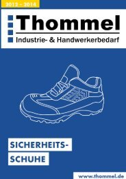 Lagersortiment Sicherheitsschuhe - Thommel I & H GmbH