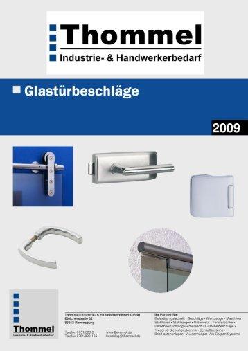 Glastürbeschläge - Thommel I & H GmbH