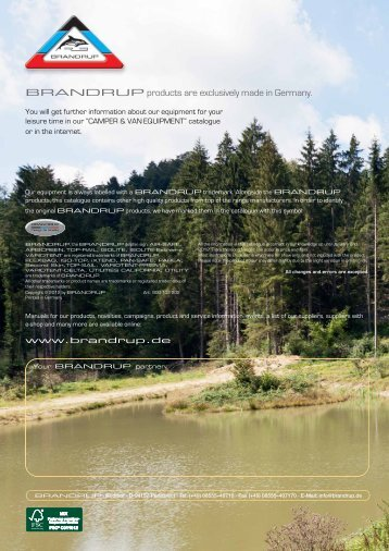 BRANDRUP Katalog Caddy 2012 UK - Online-Shop der Wiest ...