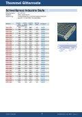 Thommel Gitterroste - Thommel I & H GmbH - Page 7