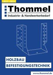 Zimmereikatalog 2013/2014 - Thommel I & H GmbH