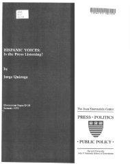 Hispanic Voices: Is the Press Listening - Joan Shorenstein Center ...