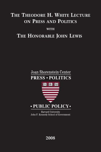 Transcript - Joan Shorenstein Center on the Press, Politics and ...