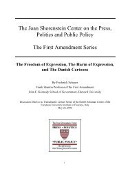 Transcript - Joan Shorenstein Center on the Press, Politics and ...
