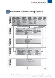 Sensonmotorische Entwicklungsübersicht - Sichere Kita
