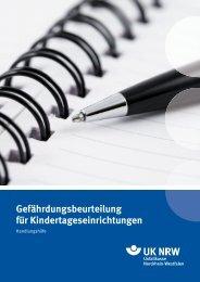 Gefährdungsbeurteilung für Kindertageseinrichtungen - Sichere Kita