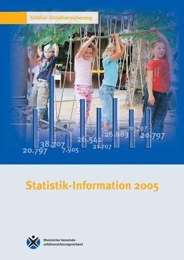 Statistik-Information 2005 - Sichere Kita