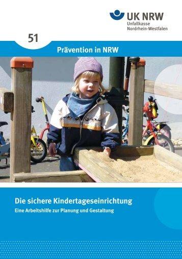 sichere Kindertageseinrichtung - Unfallkasse NRW