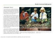 Kinder-Garten im Kindergarten - Sichere Kita