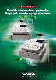 CE-6000/CE-7000 - Cash Registers