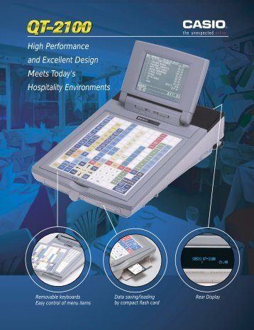 High Performance and Excellent Design Meets ... - Cash Registers