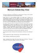 Mercure Bay View Dahab - Aquakadabra - Seite 2