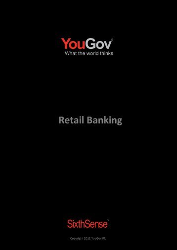Download Retail Banking Table of Contents - SixthSense - YouGov
