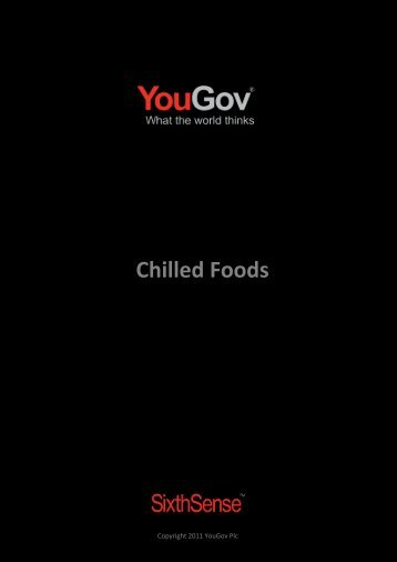 Chilled Foods - SixthSense - YouGov