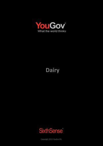 Download the Table of Contents - SixthSense - YouGov
