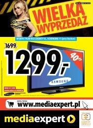 OFERTA TYLKO DLA LEGNICY UL. SCHUMANA ... - Mediaexpert.pl