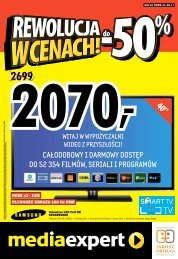 HDMI x3 ? USB P?YNNO?? OBRAZU 100 Hz CMR - Mediaexpert.pl