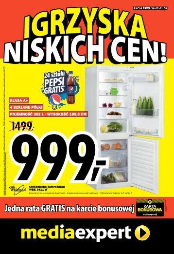 Jedna rata GRATIS na karcie bonusowej - Mediaexpert.pl