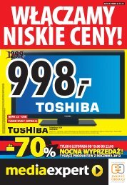 Gazetka Media Expert - Mediaexpert.pl