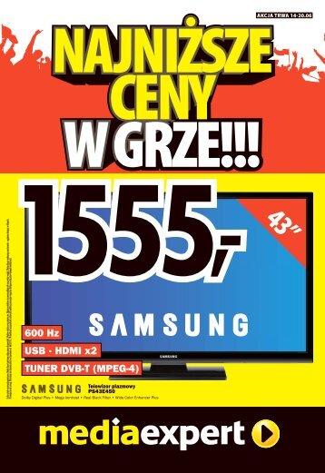 600 Hz USB ? HDMI x2 TUNER DVB-T (MPEG-4)