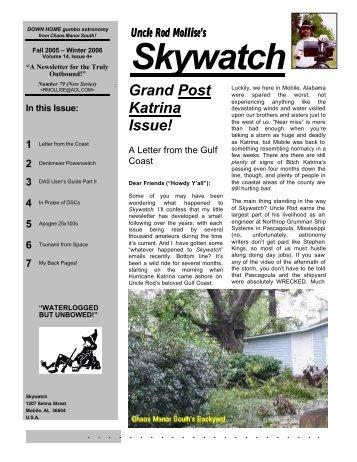 Fall 2005/Winter 2006 - Skywatch - Brainiac