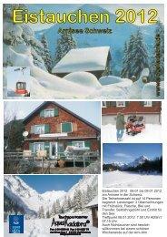 Eistauchen 2012 Arnisee Schweiz www .aquakada bra.de