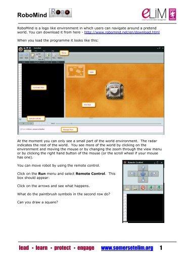 Robomind Teachers.pdf - Somerset Learning Platform