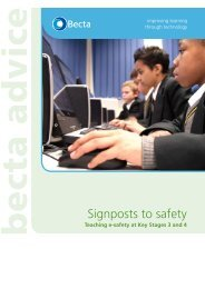 teaching e-safety at Key Stages 3 and 4 - Teachtoday
