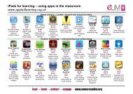 iPads for learning apps May 2013.pdf - Somerset Learning Platform