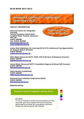 SCIL - Somerset Learning Platform