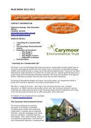 Carymoor Environmental Centre - Somerset Learning Platform