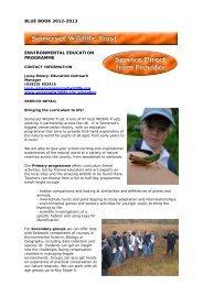 Somerset Wildlife Trust - Somerset Learning Platform