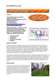Glastonbury Abbey - Somerset Learning Platform