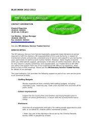 HR Advisory Service