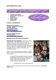 Resources For Learning - Somerset Learning Platform