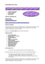 EEC Safety Suite