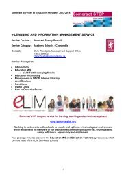 e-Learning and Information Management Service Chargeable ...