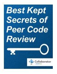 Best Kept Secrets of Peer Code Review (.pdf) - SmartBear