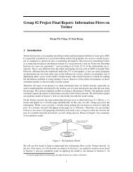 Group #2 Project Final Report: Information Flows on Twitter - SNAP