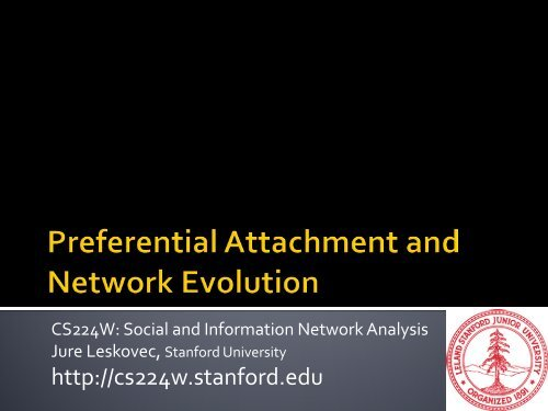 Slides - SNAP - Stanford University
