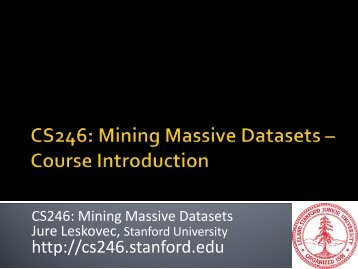 data mining - SNAP - Stanford University