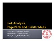 PageRank and Similar Ideas - SNAP - Stanford University