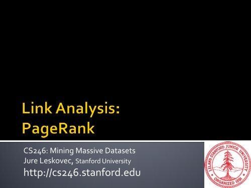 r - SNAP - Stanford University