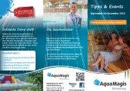 Tipps und Events September bis Dezember 2012 - AquaMagis