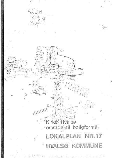Lokalplan 17 - Lejre Kommune